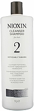 Fragrances, Perfumes, Cosmetics Cleansing Shampoo - Nioxin Thinning Hair System 2 Cleanser Shampoo