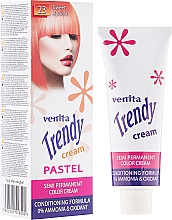 Fragrances, Perfumes, Cosmetics Coloring Hair Cream Toner - Venita Trendy Color Cream