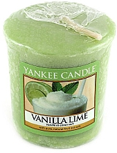 Fragrances, Perfumes, Cosmetics Scented Candle - Yankee Candle Vanilla Lime
