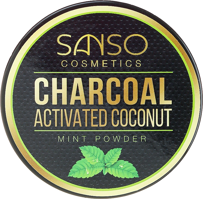 Mint Whitening Tooth Powder - Sanso Cosmetics Charcoal Activated Coconut Mint Powder