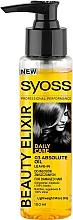 Fragrances, Perfumes, Cosmetics Micro-Oils Elixir for Damaged and Dry Hair - Syoss Beauty Elixir