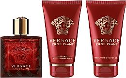 Fragrances, Perfumes, Cosmetics Versace Eros Flame - Set (edp/50ml + sh/gel/50ml + ash/balm/50ml)