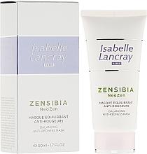 Fragrances, Perfumes, Cosmetics Anti-Redness Face Mask - Isabelle Lancray Zensibia Neozen Balancing Anti Redness Mask