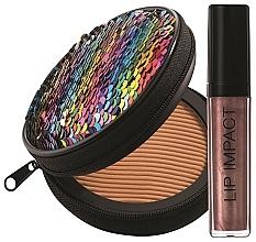 Fragrances, Perfumes, Cosmetics Set - NoUBA Sunlike Natural Tan №2 (f/powder/15g + lip gloss/6ml)