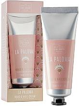 Fragrances, Perfumes, Cosmetics Hand & Nail Cream - Scottish Fine Soap La Paloma Hand & Nail Cream