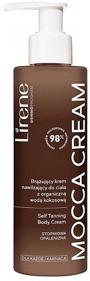 Moisturizing Body Cream - Lirene Moccoa Moisturizing Cream — photo N1