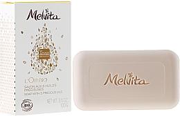 Fragrances, Perfumes, Cosmetics Face and Body Soap - Melvita L'Or Bio Soap
