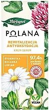 Fragrances, Perfumes, Cosmetics Revitalizing Antioxidant Cream-Serum - Polana