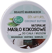Fragrances, Perfumes, Cosmetics Body & Hair Coconut Oil - Beaute Marrakech Coconut Butter