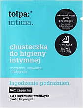 Fragrances, Perfumes, Cosmetics Soothing Intimate Wipes 8pcs - Tolpa Intima