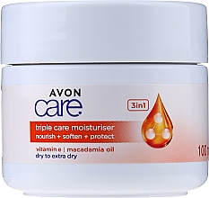 Fragrances, Perfumes, Cosmetics 3-in-1 Moisturising Vitamin E Cream - Avon Care