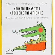 Fragrances, Perfumes, Cosmetics Kids Shea Butter & Lavender Oil Soap - Uoga Uoga Crocodile From The Nile Natural Soap