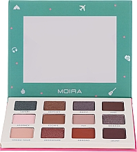 Fragrances, Perfumes, Cosmetics Eyeshadow Palette - Moira Happy Go, Fly, Travel Shadow Palette