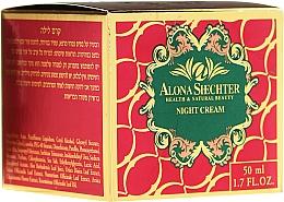 Fragrances, Perfumes, Cosmetics Night Face Cream - Alona Shechter Night Cream