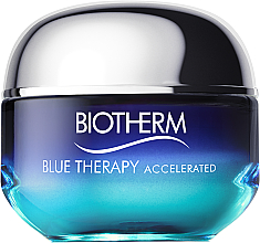 """Fragrances, Perfumes, Cosmetics Silky Face Cream """"Accelerated Repair"""" - Biotherm Blue Therapy Accelerated Cream"""