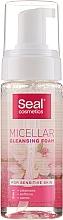 Fragrances, Perfumes, Cosmetics Micellar Foam for Sensitive Skin - Seal Cosmetics Micellar Cleansing Foam