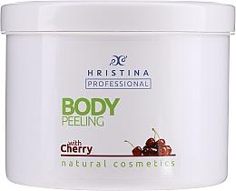 Fragrances, Perfumes, Cosmetics Cherry Body Peeling - Hristina Professional Cherry Body Peeling