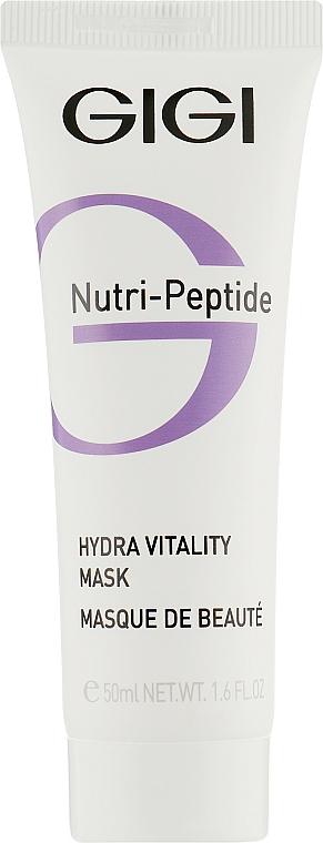 Moisturizing Peptide Mask for Dry Skin - Gigi Nutri-Peptide Hydra Vitality Mask — photo N1