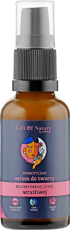 Prebiotic Face Serum for Sensitive Skin - Vis Plantis Gift of Nature Prebiotic Face Serum for Sensitive Skin