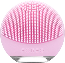 Fragrances, Perfumes, Cosmetics Compact Face Cleansing Brush - Foreo Luna Go For Normal Skin