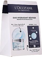 Fragrances, Perfumes, Cosmetics Set - L'Occitane Aqua Reotier (cr/50ml + mask/6ml)