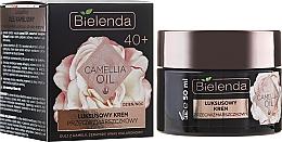 Fragrances, Perfumes, Cosmetics Moisturizing Anti-Wrinkle Cream-Concentrate 40+ - Bielenda Camellia Oil Luxurious Anti-Wrinkle Cream 40+