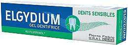 Fragrances, Perfumes, Cosmetics Gel Toothpaste - Elgydium Sensitive Teeth Toothpaste Gel