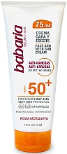 Fragrances, Perfumes, Cosmetics Face and NEck Sun Cream - Babaria Face and Neck Sun Cream Spf 50