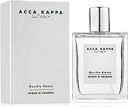 Fragrances, Perfumes, Cosmetics Acca Kappa White Moss - Eau de Cologne