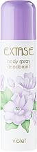 Fragrances, Perfumes, Cosmetics Deodorant - Extase Violet Deodorant