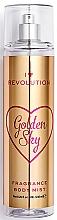 Fragrances, Perfumes, Cosmetics Body Spray Golden Sky - I Heart Revolution Body Mist Golden Sky