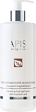 Fragrances, Perfumes, Cosmetics Cleansing Tonic with Mandelic Acid - Apis Professional Cleansing Hydrogel Toner With Mandelic Acid