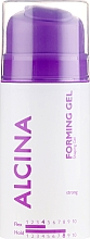 Fragrances, Perfumes, Cosmetics Texturizing Strong Hold Hair Gel - Alcina Strong Forming Gel