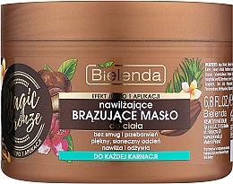 Fragrances, Perfumes, Cosmetics Bronzing Body Butter - Bielenda Magic Bronze Moisturizing Bronzing Body Butter