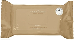 Fragrances, Perfumes, Cosmetics Cleansing Wipes with Micellar Water, 10 pcs - Rituals The Ritual of Namaste Miracle Wipes Travel