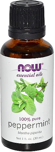 Peppermint Essential Oil - Now Foods Essential Oils 100% Pure Peppermint