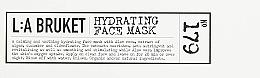 Moisturizing Face Mask - L:A Bruket No. 179 Hydrating Face Mask — photo N2