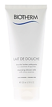 Fragrances, Perfumes, Cosmetics Cleansing Shower Milk - Biotherm Lait De Douche Cleansing Shower Milk