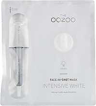 Fragrances, Perfumes, Cosmetics Face Mask - The Oozoo Face In-Shot Mask Intensive White