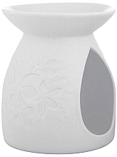 Fragrances, Perfumes, Cosmetics Aroma Lamp, white, 10.5x12.5 cm - Yankee Candle Tart Burner Pastel Hues Floral White 2