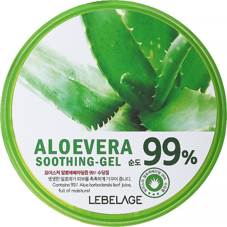 Moisturizing Aloe Gel - Lebelage Moisture Aloe Vera 99% Soothing Gel