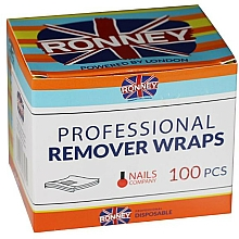 Fragrances, Perfumes, Cosmetics Removing Hybrid Nail Polish Foil - Ronney Professional Remover Wraps