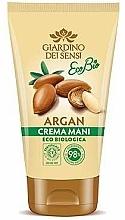 Fragrances, Perfumes, Cosmetics Hand Cream - Giardino Dei Sensi Eco Bio Argan Hand Cream
