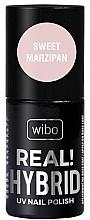 Fragrances, Perfumes, Cosmetics Hybrid Nail Polish - Wibo Hybrid Real Hybrid UV Nail Polish