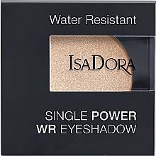 Fragrances, Perfumes, Cosmetics Eyeshadow - IsaDora Single Power WR Eyeshadow