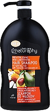 Fragrances, Perfumes, Cosmetics Chamomile & Avocado Shampoo for Light & Dry Hair - Bluxcosmetics Naturaphy Hair Shampoo