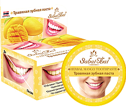 Fragrances, Perfumes, Cosmetics Mango Toothpaste - Sabai Thai Herbal Mango Toothpaste