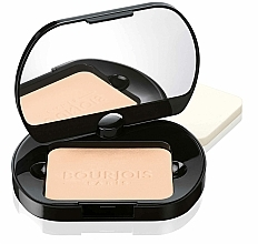 Fragrances, Perfumes, Cosmetics Compact Face Powder - Bourjois Poudre Compacte Silk Edition