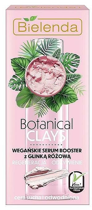 Pink Clay Facial Booster Serum - Bielenda Botanical Clays Vegan Serum Booster Pink Clay