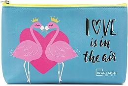 Fragrances, Perfumes, Cosmetics Makeup Bag with Pattern, blue - IDC Design Accessories Cosmetig Bag